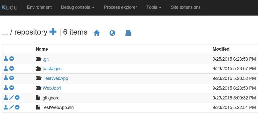 Repository folder