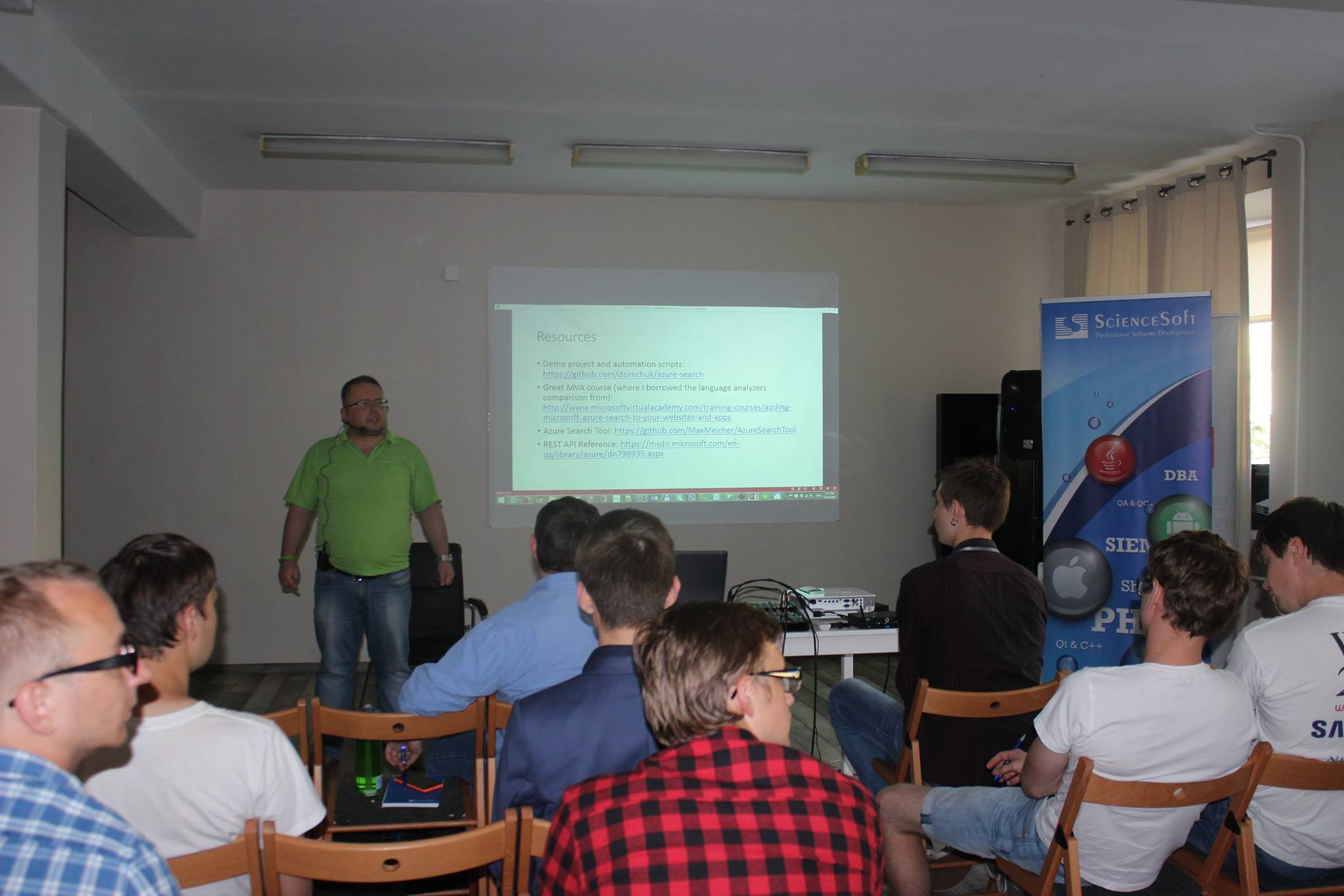 Belarus Azure User Group 1st meet-up