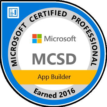 MCSD App Builder Logo